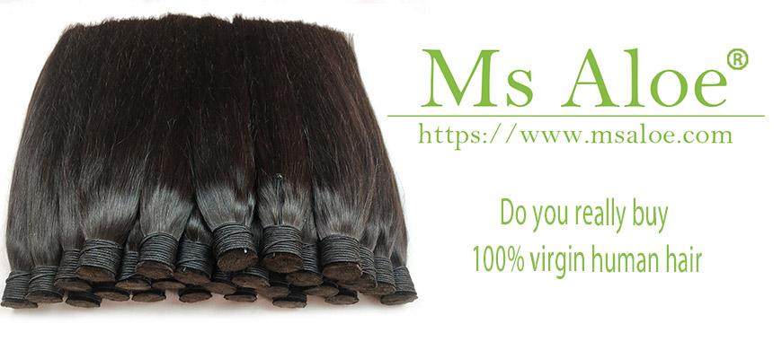 Do you really buy 100% virgin human hair