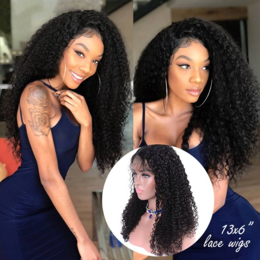 Curly Hair13x6 Lace Front Wig
