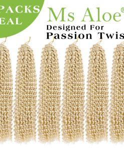 Passion Twist Hair Blonde Water Wave