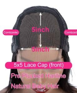 5x5 Lace Closure Wigs