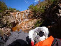 Cachoeira da valle do Capao