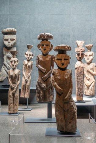 Statues Mapuche