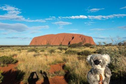 Devant Uluru