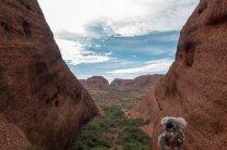 Dans le canyon de Kata Tjuta
