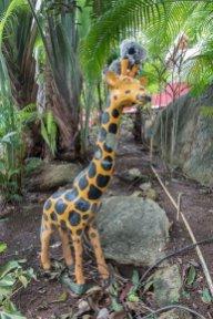 Avec ma copine la girafe