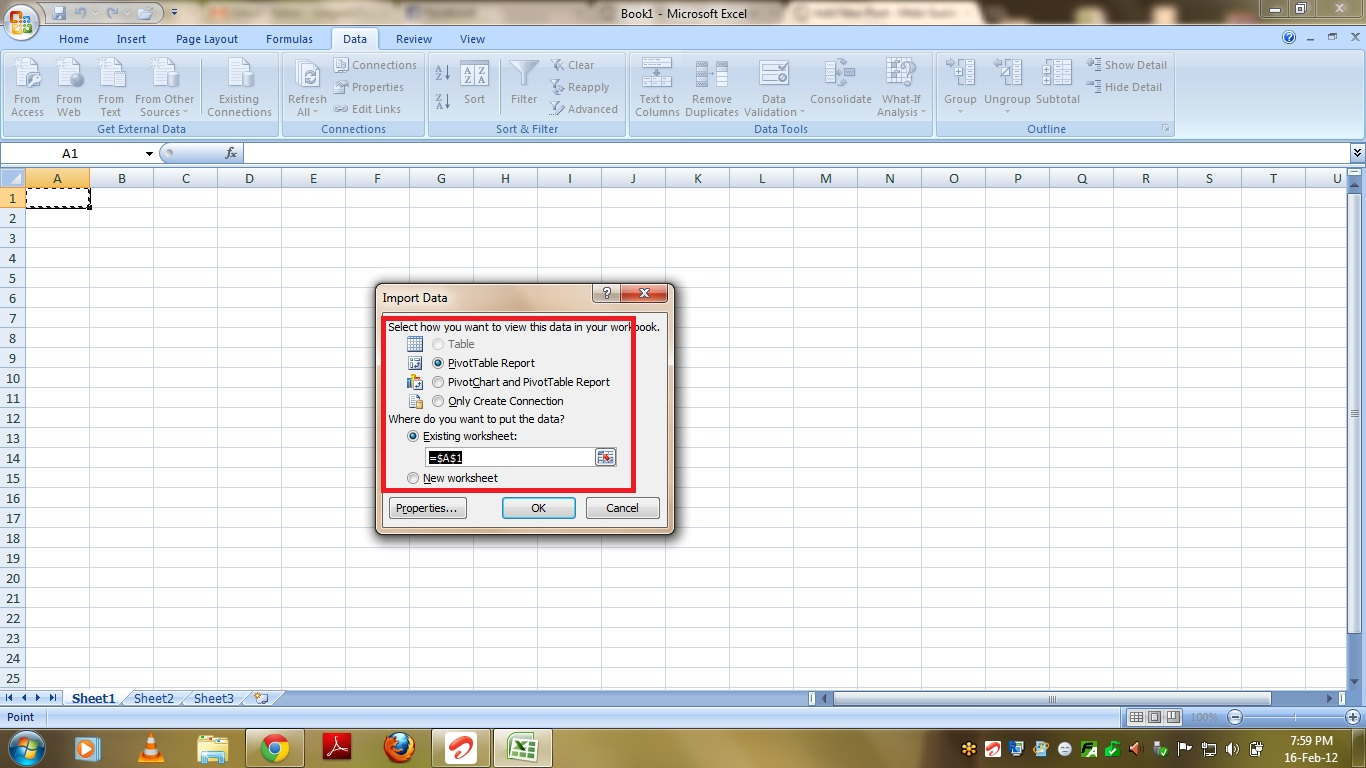 How To Select Data From Excel Sheet In C