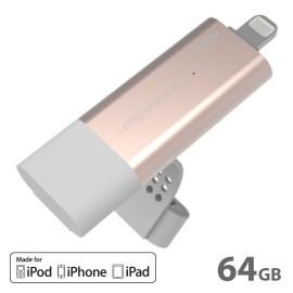 【在庫限り製品】AddOn Pendrive iFlash Pro 64GB Gold