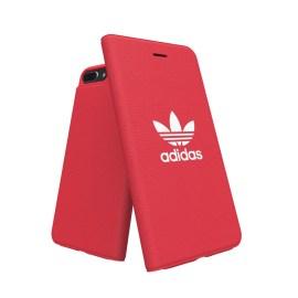 【終息品】adidas Originals adicolor Booklet Case iPhone 8 Plus Red