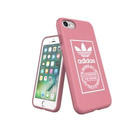 【取扱終了製品】adidas Originals TPU Hard Cover iPhone 8 Ash Pink