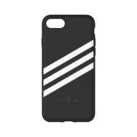 [au+1 Collection Select] adidas Originals Moulded Case for iPhone 8 Black/White