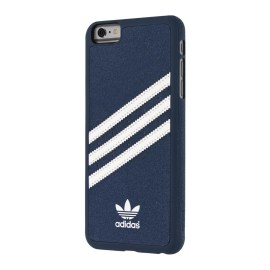 【取扱終了製品】adidas Originals Suede Moulded Case iPhone 6s Plus Blue/White