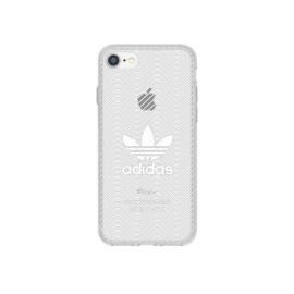 【取扱終了製品】adidas Originals Clear Case iPhone 7 Logo White