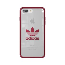 【取扱終了製品】adidas Originals Clear Case iPhone 8 Plus Burgundy Logo