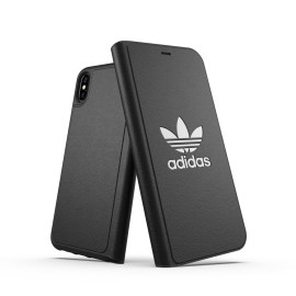 adidas Originals TPU Booklet Case BASIC iPhone XS Max Black/White