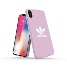 adidas Originals adicolor Moulded Case iPhone XS Max Clear Pink