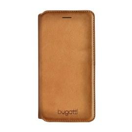 bugatti Booklet Case iPhone 7 Parigi Cognac