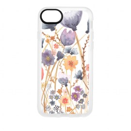 [docomo Select] Casetify Grip for iPhone 8 フラワー