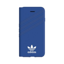 [au+1 Collection Select] adidas Originals Booklet Case for iPhone 8 Blue/White