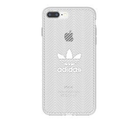 adidas Originals Clear Case iPhone 7 Plus Logo White