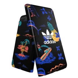【取扱終了製品】adidas Originals Beach Booklet case iPhone 8 Plus Black