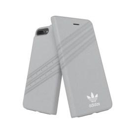 adidas Originals Booklet Case GAZELLE iPhone 8 Plus Grey