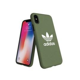adidas Originals adicolor Moulded Case iPhone X Trace Green