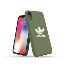 adidas Originals adicolor Moulded Case iPhone XR Trace Green