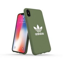 adidas Originals adicolor Moulded Case iPhone XS Max Trace Green