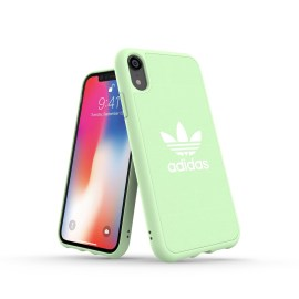 adidas Originals adicolor Moulded Case iPhone XR Clear Mint