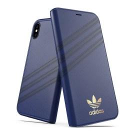 adidas Originals Booklet Case SAMBA iPhone XS Blue