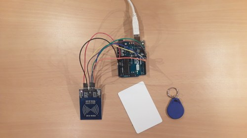 small resolution of setup of this tutorial rfid reader and two rfid tags