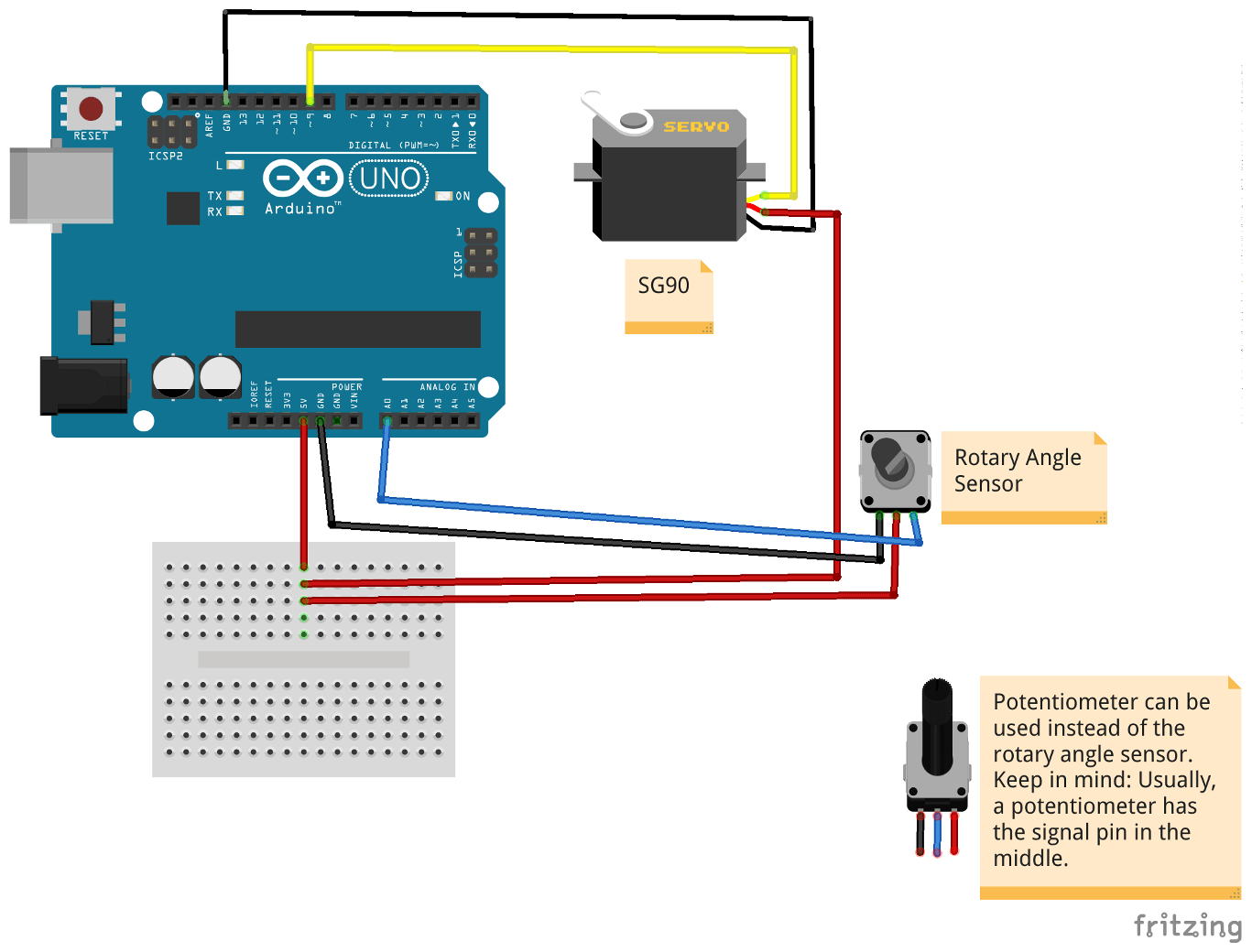 hight resolution of a scheme that shows how to wire the micro servo motor sg90 to an arduino uno