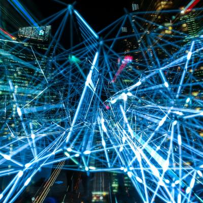 abstract image representing connectivity with Azure AD