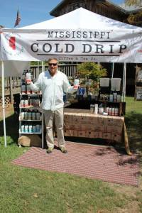 Mississippi Cold Drip Coffee at the Ocean Springs farmers market