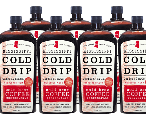 Mississippi Cold Brew Coffee Concentrate - 7 Pack