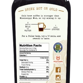 """Cold Drip Coffee Concentrate """"Salted Caramel"""" 32-Ounce"""