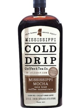 """Cold Brew Coffee Concentrate """"Mississippi Mocha"""" 32-Ounce"""