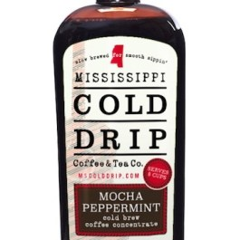 """Cold Drip Coffee Concentrate """"Mocha Peppermint"""" 32-Ounce"""