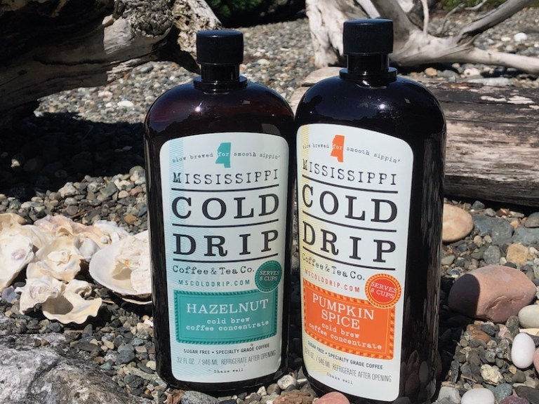 Hazelnut and Pumpkin Spice coffee concentrate - Mississippi Cold Drip Coffee & Tea Company