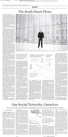 Wall Street Journal - 23-24 April 2011
