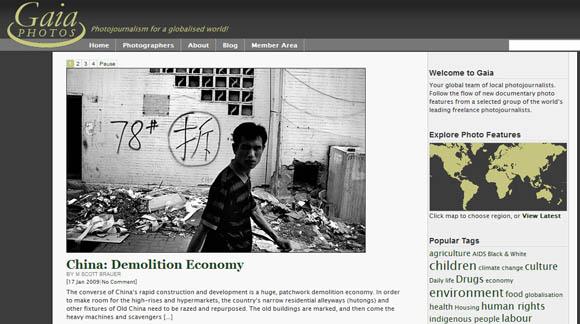 China\'s Demolition Economy at Gaia Photos