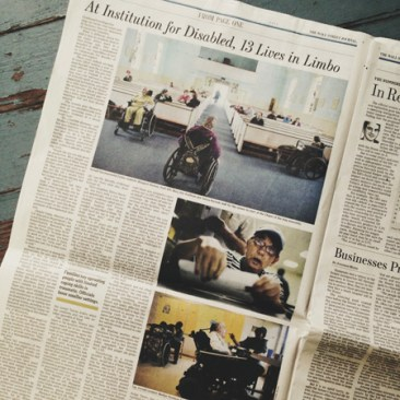 Wall Street Journal - June 29, 2013 - At Nation's Oldest Institution For the Disabled, 13 Lives in Limbo