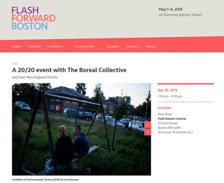 Flash Forward 20/20 with the Boreal Collective - April 30, 2014