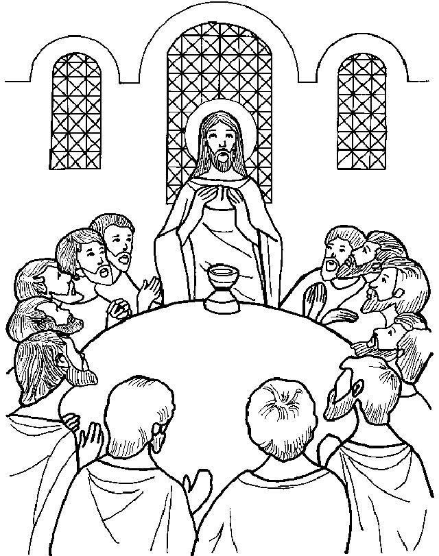 Jueves Santo: Gráficos y otros Recursos para preparar la