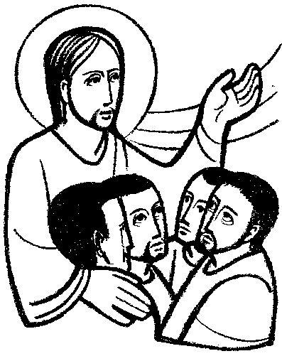 Domingo 7 de Pascua C. Gráficos, Dibujos, Caricaturas