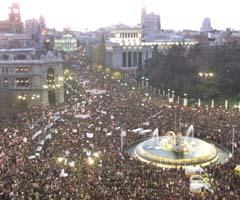 660 000 marchando en Madrid