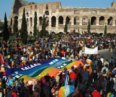 Un millón en Roma contra la guerra