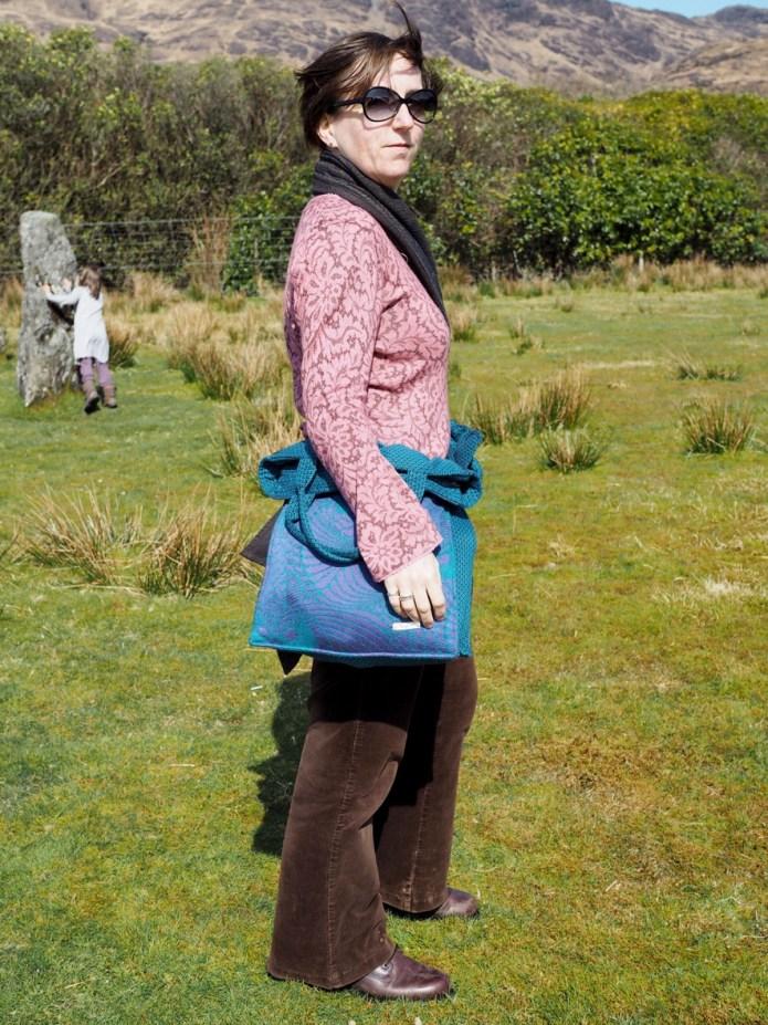 Bardot bag in waist mode
