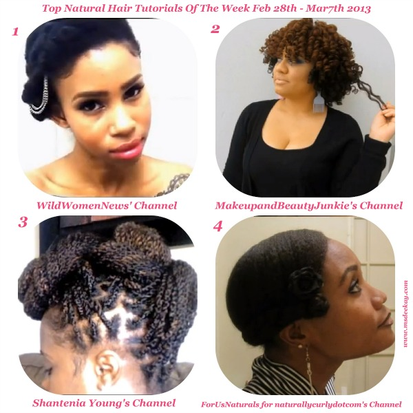 Natural Hairstyles Tutorial Natural Hair Trend 2017
