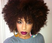 afros and blow outs black